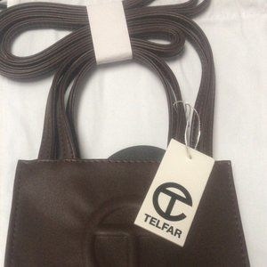 Telfar Chocolate Small Shopping bag